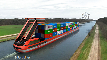 Freight by water goes electric