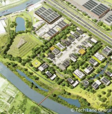 Green infrastructure & circular economy at work