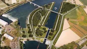 New lock on Po waterway
